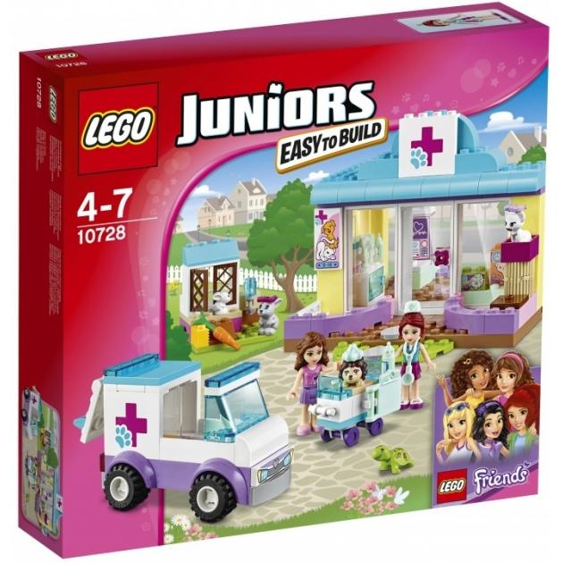 Lego Juniors Ветеринарная клиника Мии 10728