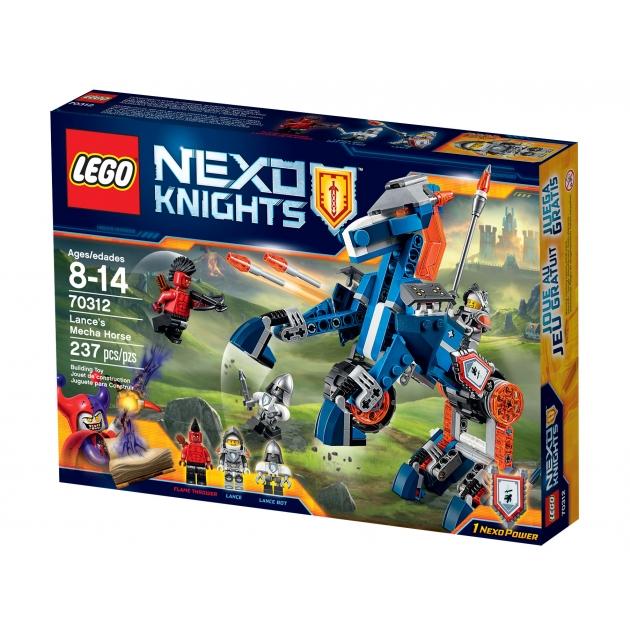 Lego Nexo Knights Ланс и его механический конь 70312_1