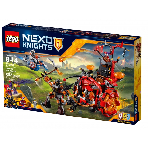 Lego Nexo Knights Джестро мобиль 70316