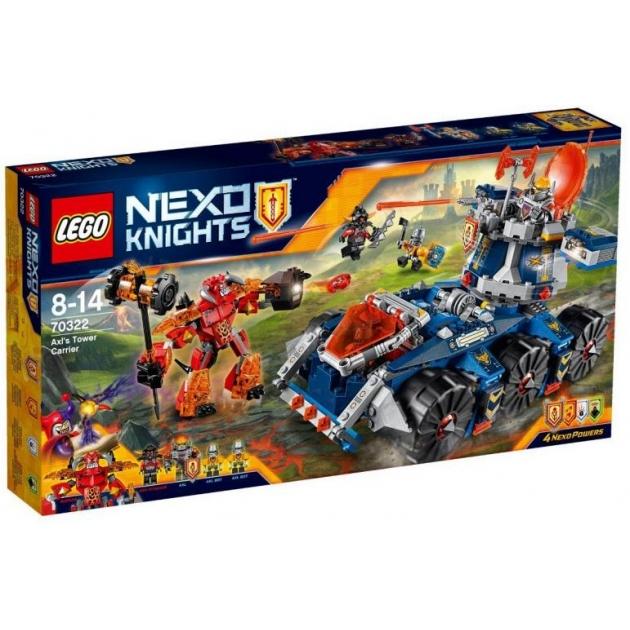 Lego Nexo Knights Башенный тягач Акселя 70322