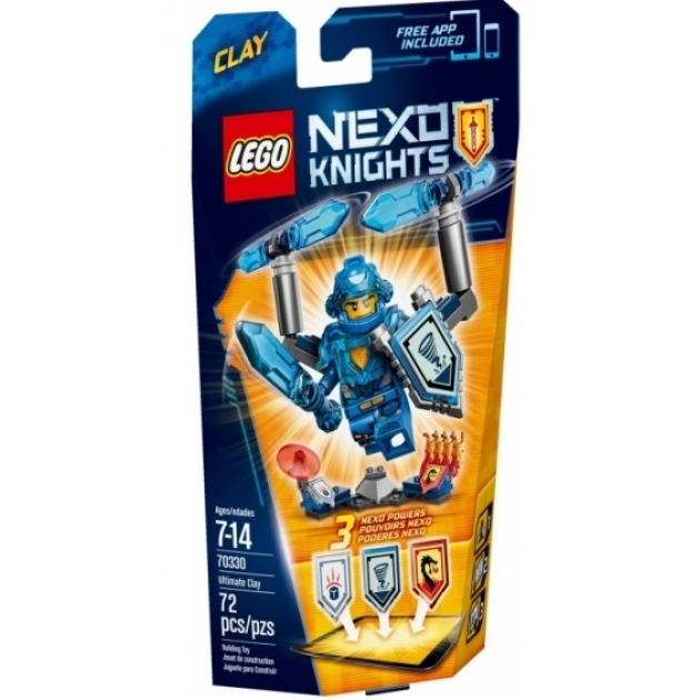 Lego Nexo Knights Клэй Абсолютная сила 70330