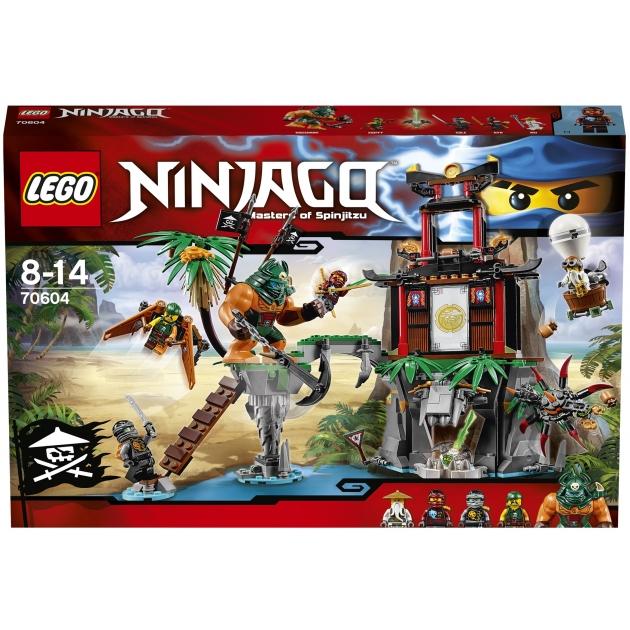 Lego Ninjago Остров тигриных вдов 70604