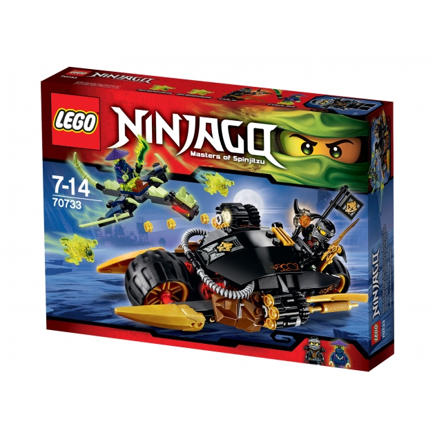 Lego Ninjago Бластер байк 70733