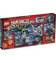 Lego Ninjago Атака Дракона Моро 70736