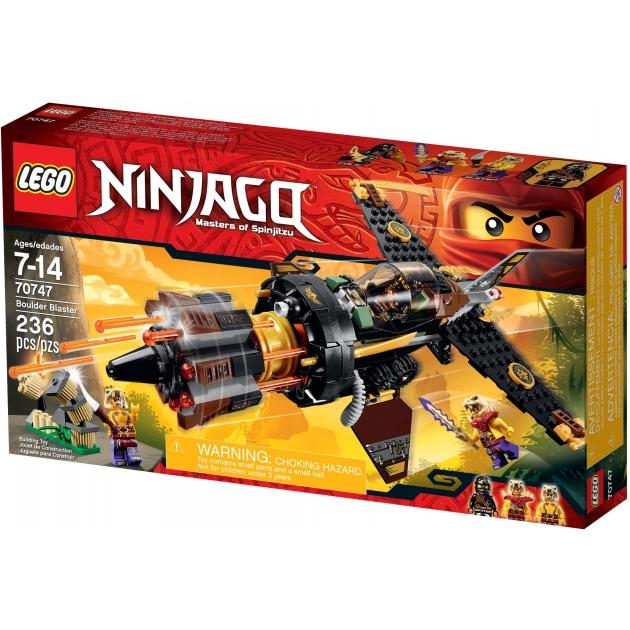 Lego Ninjago Скорострельный истребитель Коула 70747