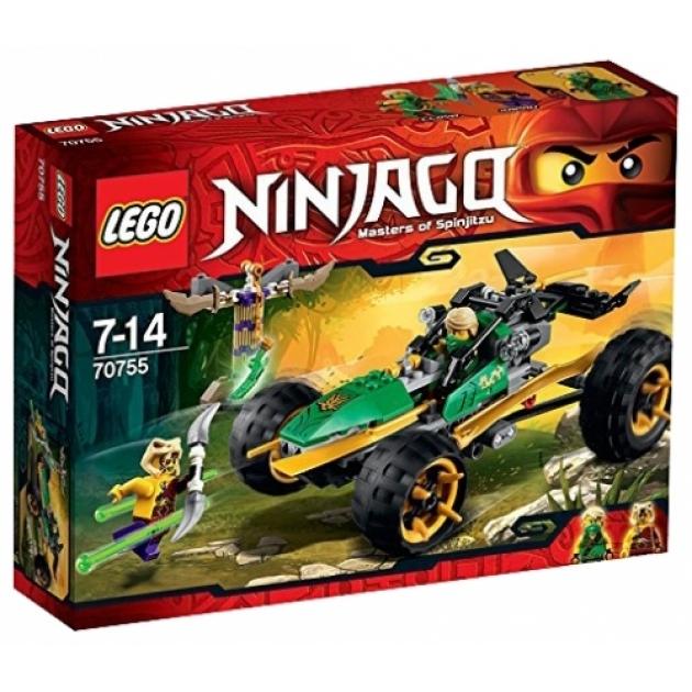 Lego Ninjago Тропический багги Зеленого ниндзя 70755