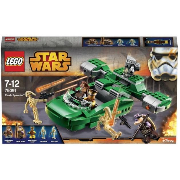 Lego Star Wars Флэш спидер 75091
