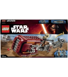 Lego Star Wars Спидер Рей 75099