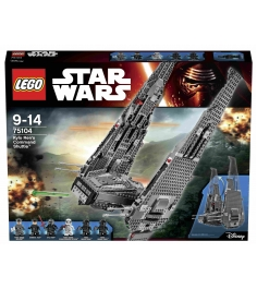 Lego Star Wars Командный шаттл Кайло Рена 75104...