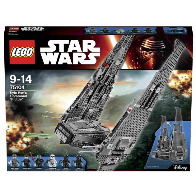 Lego Star Wars Командный шаттл Кайло Рена 75104