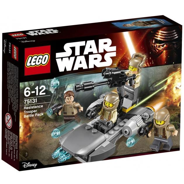 Lego Star Wars Боевой набор Сопротивления 75131
