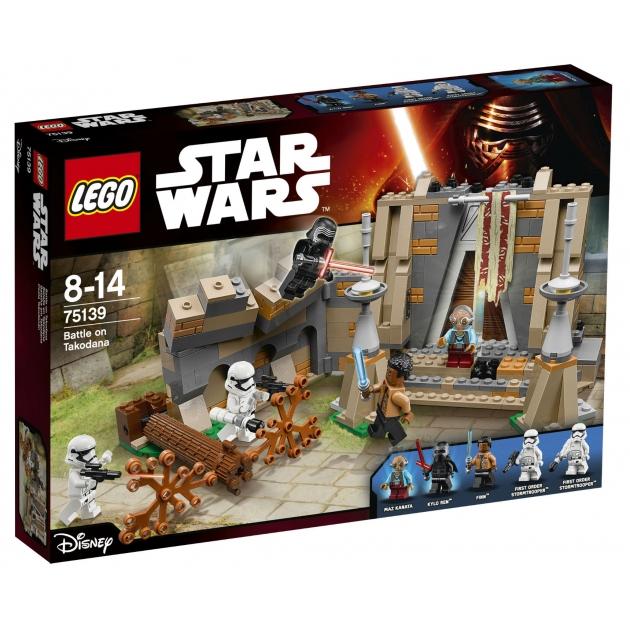 Lego Star Wars Битва планете Такодана 75139