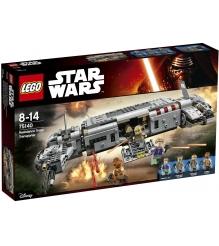 Lego Star Wars Военный транспорт Сопротивления 75140...