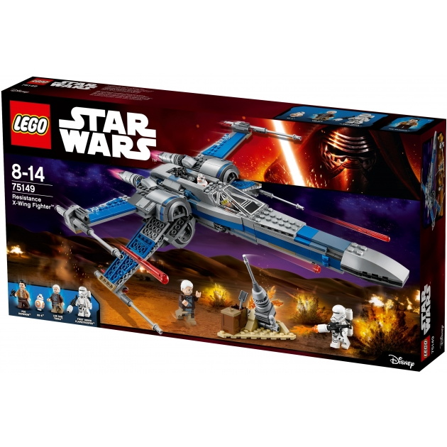 Lego Star Wars Истребитель сопротивления X Wing Fighter 75149