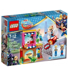 Lego DC Super Hero Girls Харли Квинн спешит на пом...
