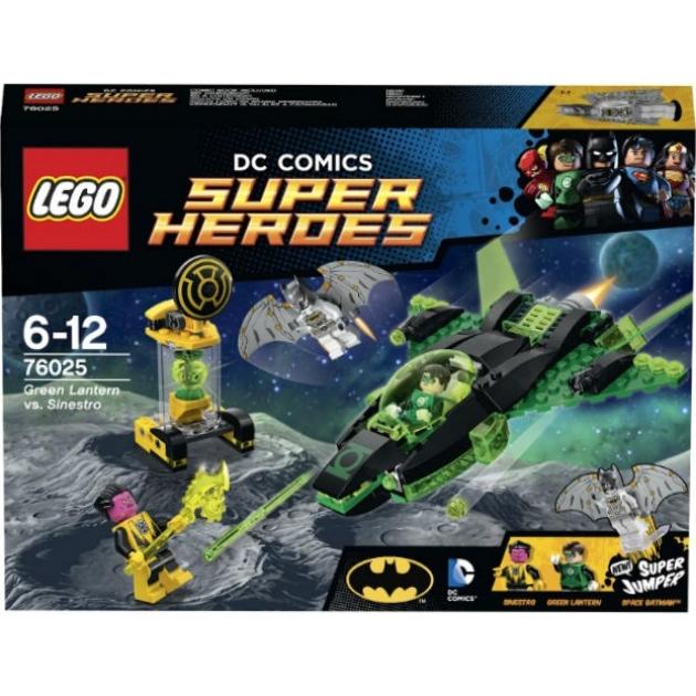 Lego Super Heroes Зеленый Фонарь против Синестро 76025