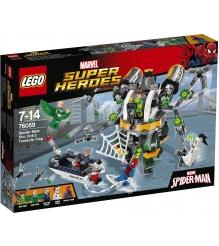 Lego Super Heroes Человек паук В ловушке Доктора Осьминога 76059...