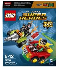 Lego Super Heroes Робин против Бэйна 76062...
