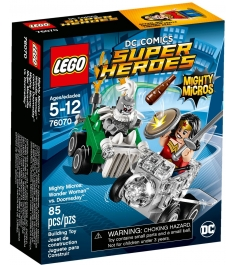 Lego Super Heroes Mighty Micros Чудо-женщина против Думсдэя 76070