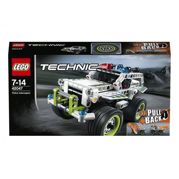 Lego Technic Полицейский патруль 42047