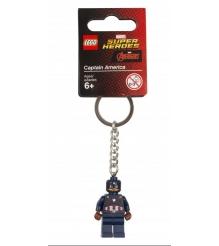 Брелок для ключей LEGO Super Heroes Капитан Америка