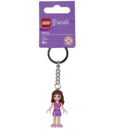 Брелок для ключей Lego Friends Оливиа