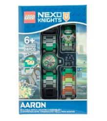 Наручные часы LEGO Nexo Knights Аарон с минифигуркой...