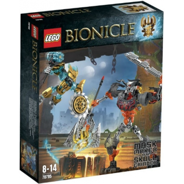 Lego Bionicle Создатель Масок против Стального Черепа 70795_1