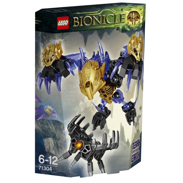 Lego Bionicle Терак Тотемное животное Земли 71304