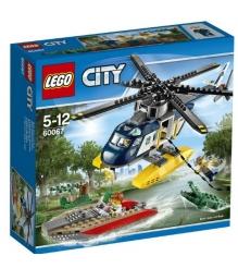 Lego City Погоня на полицейском вертолёте 60067