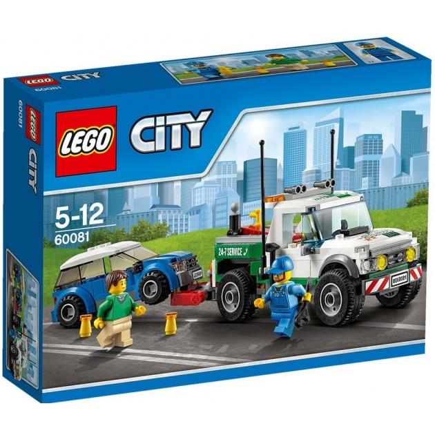 Lego City Буксировщик автомобилей 60081