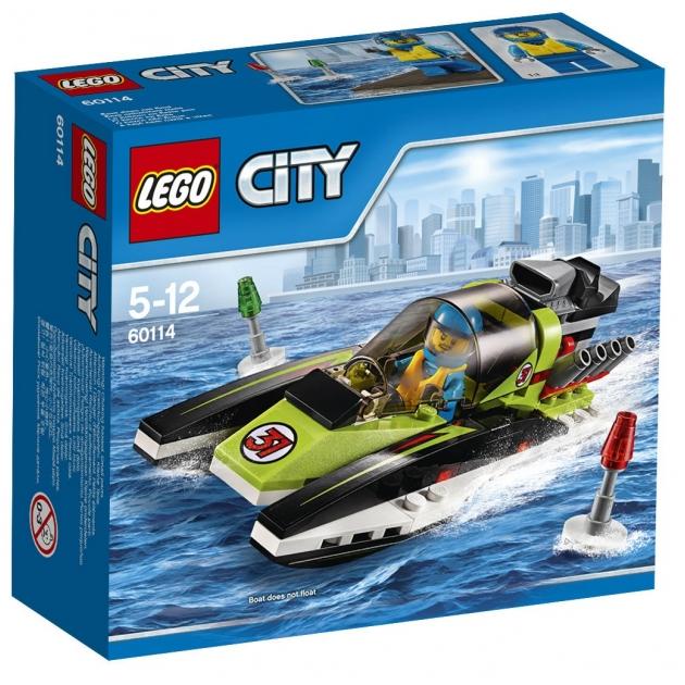Lego City Гоночный катер 60114