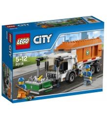 Lego City Мусоровоз 60118