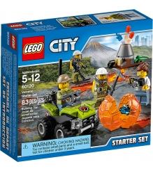 Lego City Набор для начинающих Исследователи Вулканов 60120