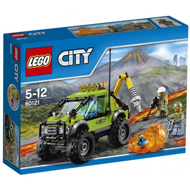 Lego City Грузовик исследователей вулканов 60121