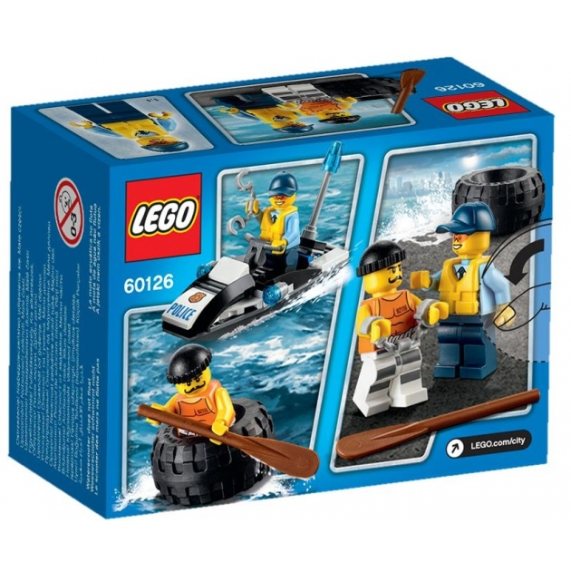 Lego City Побег в шине 60126