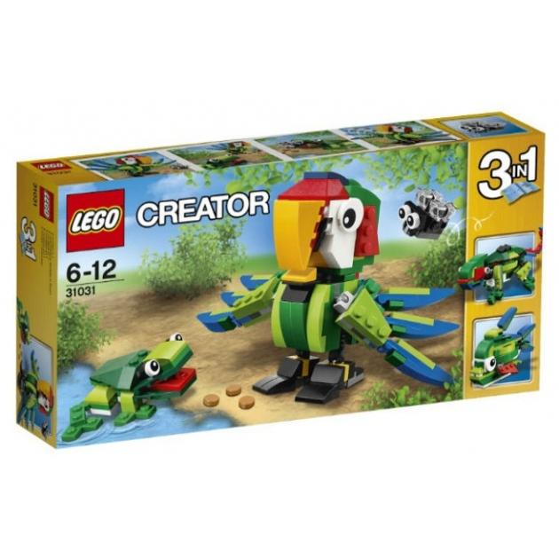 Lego Creator Животные джунглей 31031