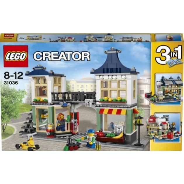 Lego Creator Магазин по продаже игрушек и продуктов 31036