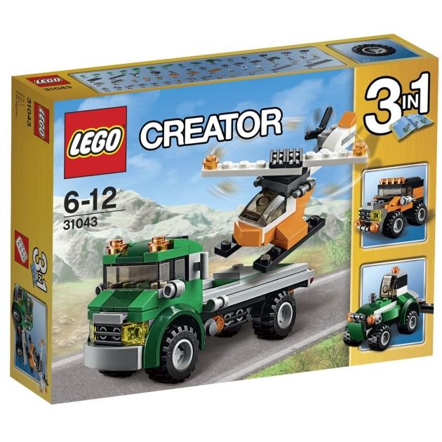 Lego Creator перевозчик вертолета 31043