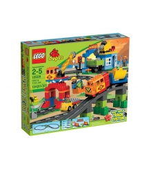 Lego Duplo Большой поезд 10508