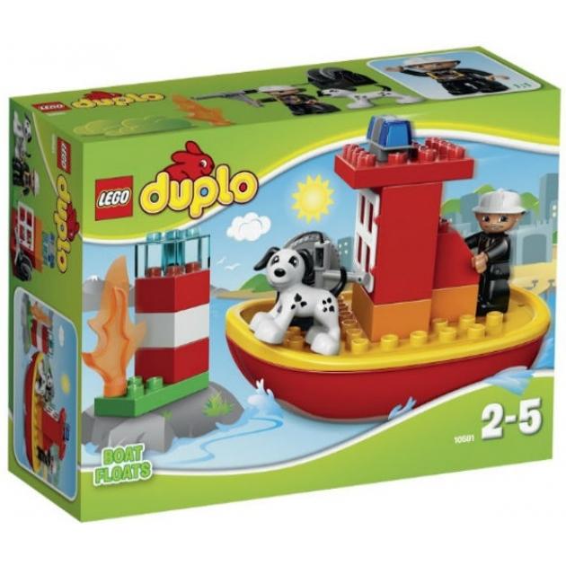 Lego Duplo Пожарный катер 10591