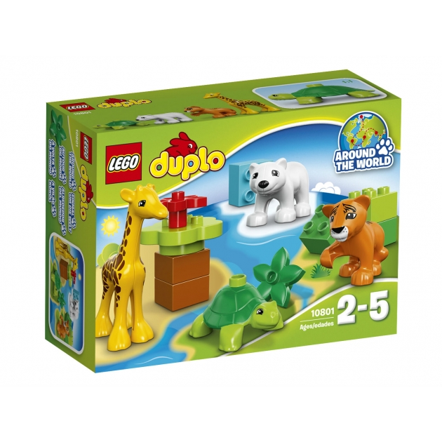 Lego Duplo Вокруг света малыши 10801_1