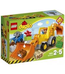 Lego Duplo экскаватор погрузчик 10811