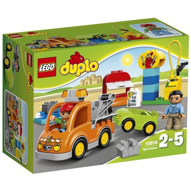 Lego Duplo Буксировщик 10814