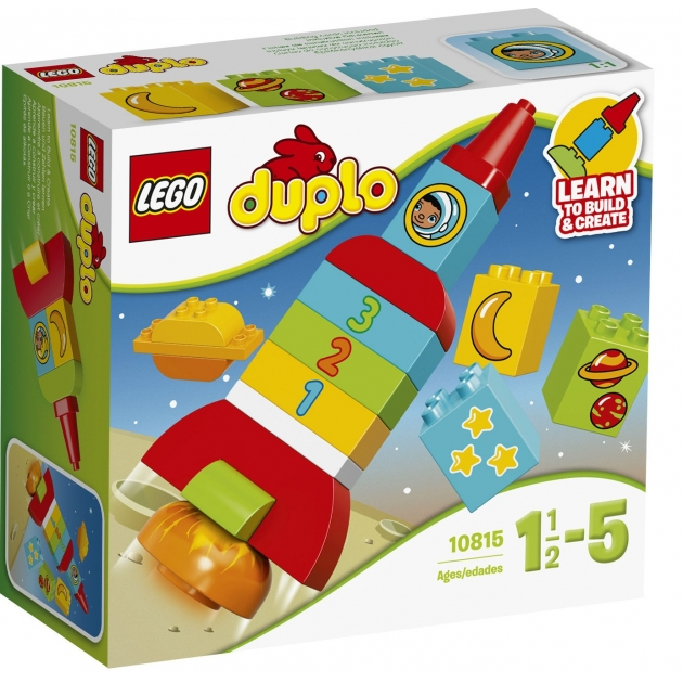 Lego Duplo моя первая ракета 10815