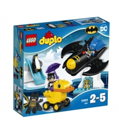 Lego Приключения на Бэтмолёте 10823...