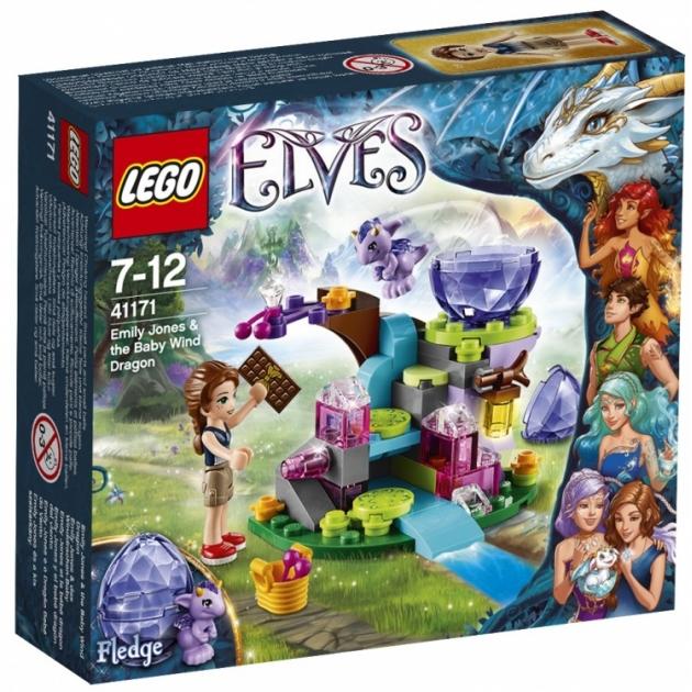 Lego Elves эмили джонс и дракончик ветра 41171