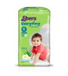 Подгузники Libero Libero EveryDay с ромашкой 7-18 ...