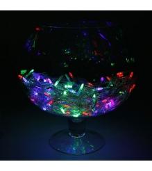 Новогодняя гирлянда Luazon Игла силикон метраж 10 метров LED мульти 1080527...