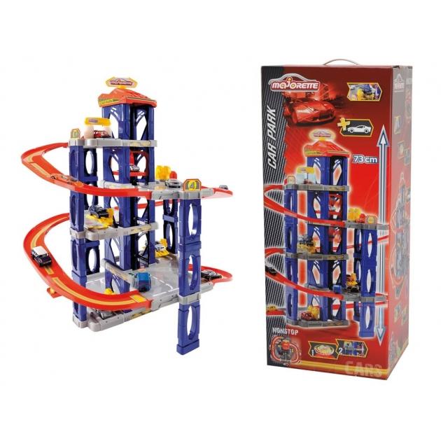 Игровой набор Majorette Автостанция 5 уровней с машинкой 2059996